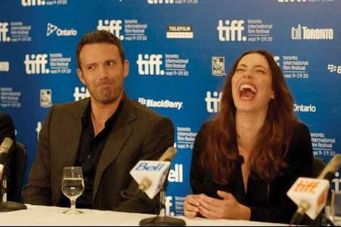 Ben Affleck and Rebecca Hall